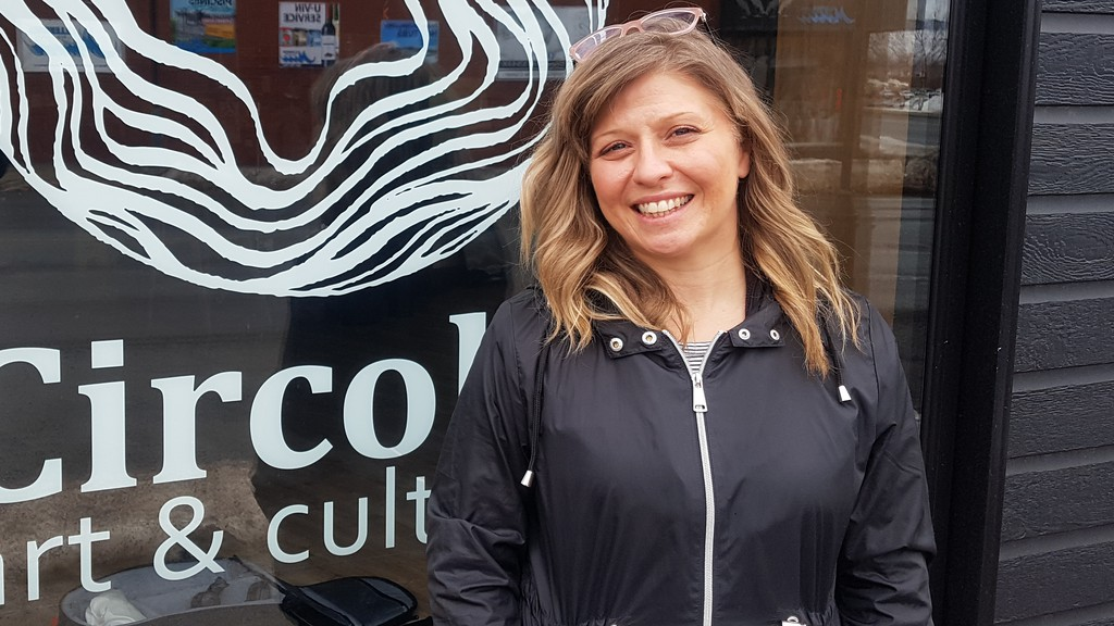 Melanie Parent, owner and director ofCircolo art & culture on Subway Street, is running for Campbellton city councillor in the May 10 municipal election. Parent says her background as a cultural development officer will be of use.