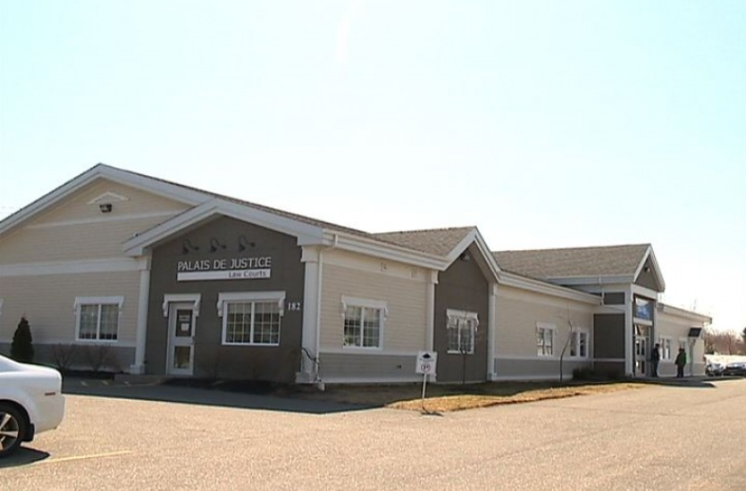 Daniel Jean, 54, of Pont-Landry who is charged with second-degree murder had his case adjourned to April 27 during a court appearance Tuesday. Pictured is the Caraquet courthouse.