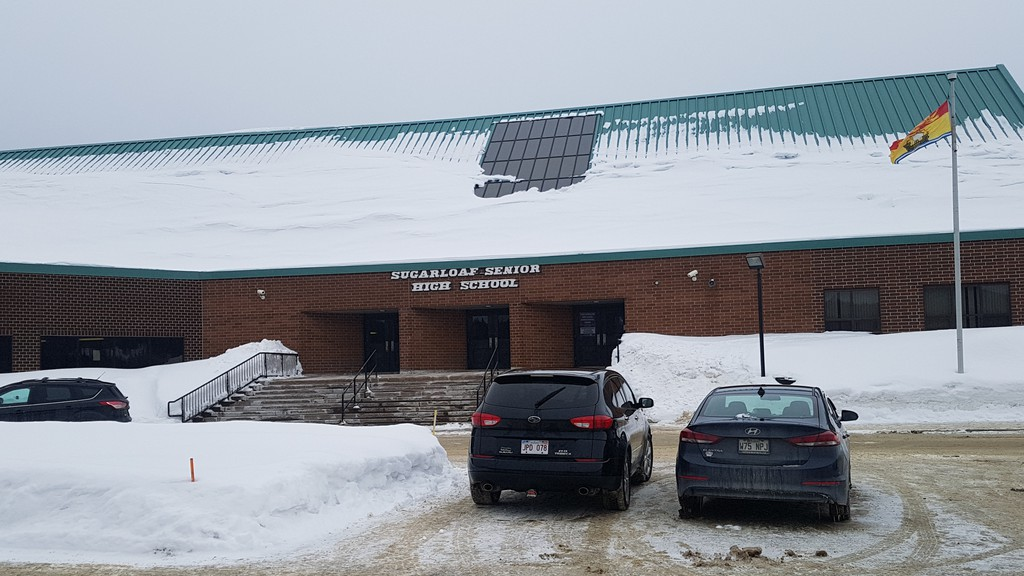 On Tuesday, April 6, high school students from Listuguj First Nation and nearby areas of Quebec were finally allowed back to school in Campbellton. Most attend Sugarloaf Senior High School.