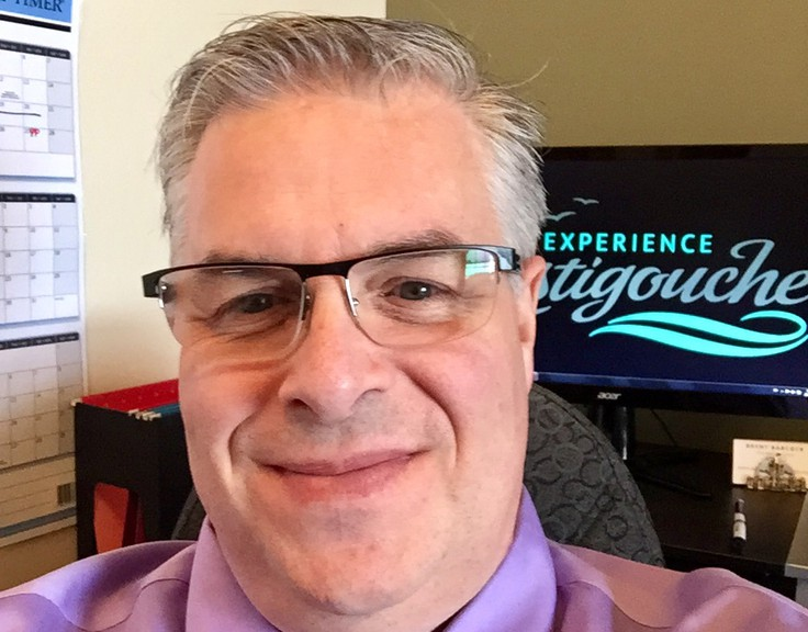 Campbellton's Brent Babcock is running for a seat on city council.