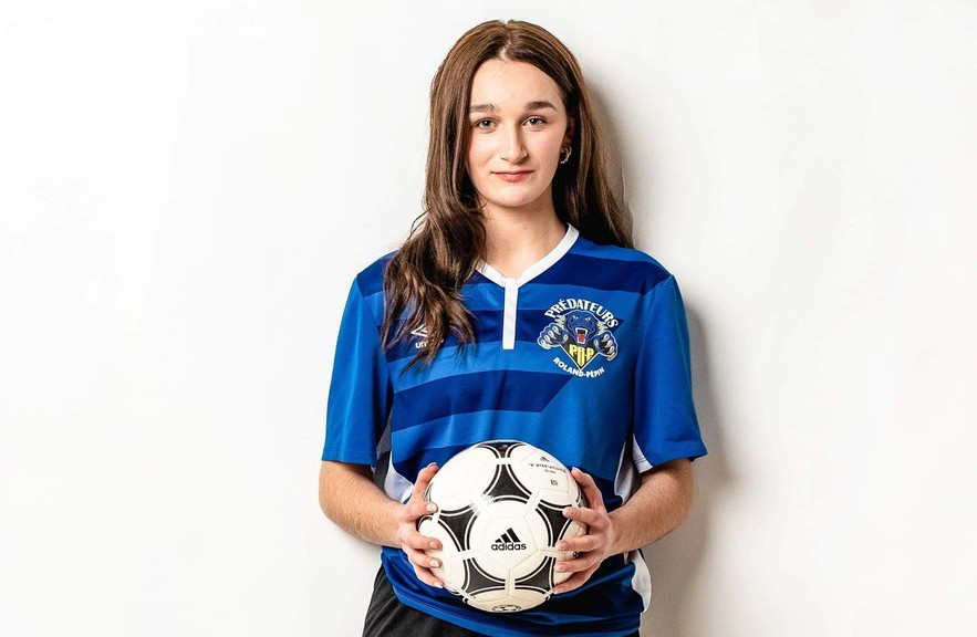 Katerina Laevski was recently signed to play soccer at the Universite de Moncton this autumn.