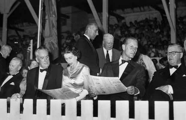 In this file photo, Queen Elizabeth II and Prince Philip witnessed their first harness race at the Fredericton Raceway on July 28, 1959.