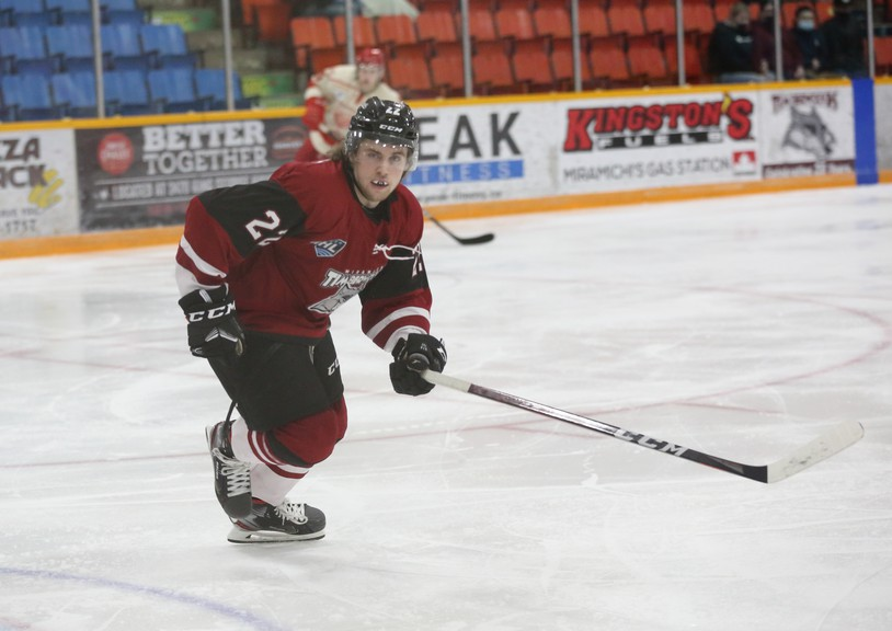 Miramichi Timberwolves forward Gavin Watt has been along for the team's roller-coaster ride over the past two seasons and overcame some adversity of his own earlier this season. The 18-year-old from Cole Harbour, N.S. missed the Wolves' first nine games after hurting his shoulder at the Moncton Wildcats' training camp.