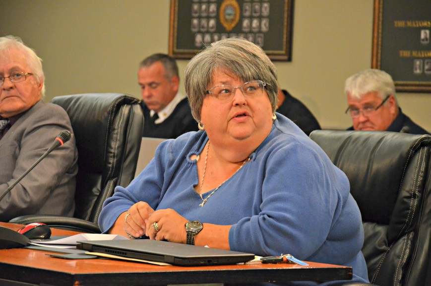 Miramichi city councillor Shelly Williams, shown in this file photo, is seeking a third term at the council table.