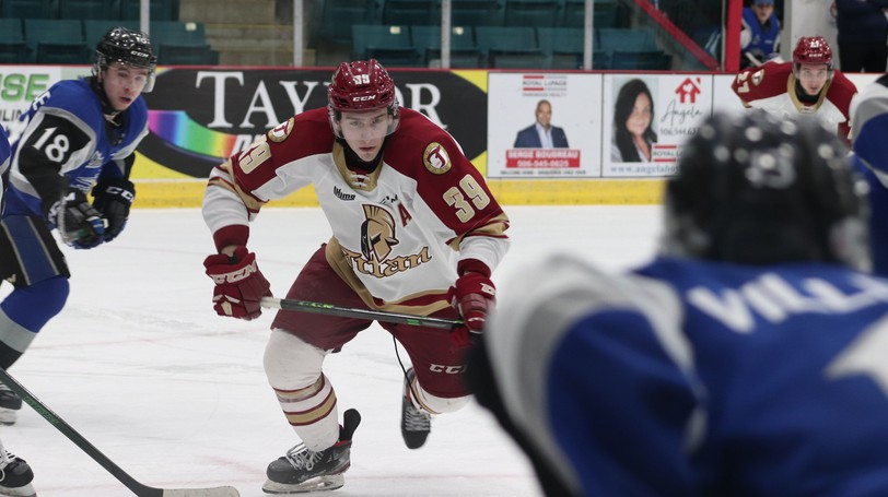 Acadie-Bathurst Titan captain Logan Chisholm says he's looking forward to the upcoming Quebec Major Junior Hockey League season, which kicks off on home ice Oct. 1 at the K.C. Irving Regional Centre.