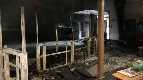 Kraft Heinz spokesperson Matt Bruce says details on when the fire-damaged Chief Young Eagle Recreation Centre in Elsipogtog First Nation will be restored, and when the community will host an NHL pre-season game, aren't known yet. The Indigenous community won Kraft Hockeyville April 10.