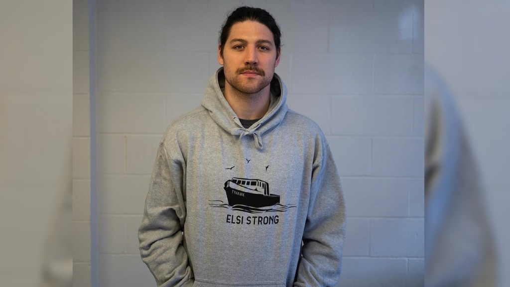 Country Liberty clothing founder Sawyer Hannay launched the Elsi Strong sweater design on April 14 in memory of the crew of the FV Tyhawk and the rescuers who responded to its sinking.