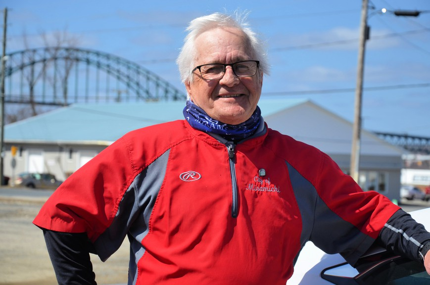 Billy Fleiger is running for a third term on Miramichi city council.