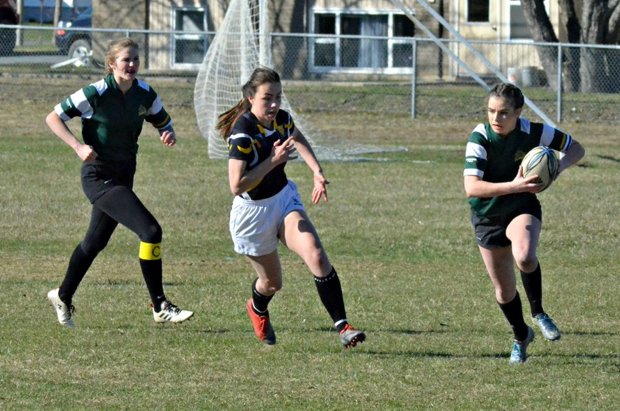 The New Brunswick Interscholastic Athletic Association's high school spring sport registrations include the James M. Hill Tommies in the rugby 10 girls' AA conference. The Miramichi Valley Pulamoo will field exhibition squads in rugby seven boys' and girls' play.