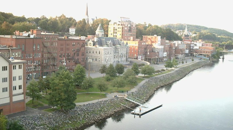 The city of Augusta, Maine is shown in a file photo. Maine is optimistic about the border reopening to Canadians. Dr. Nirav Shah, director of the Maine Center of Disease Control and Prevention saidWednesday he and commissioner Jeanne Lambrew have been discussing the border opening and are optimistic about the reduced restrictions.