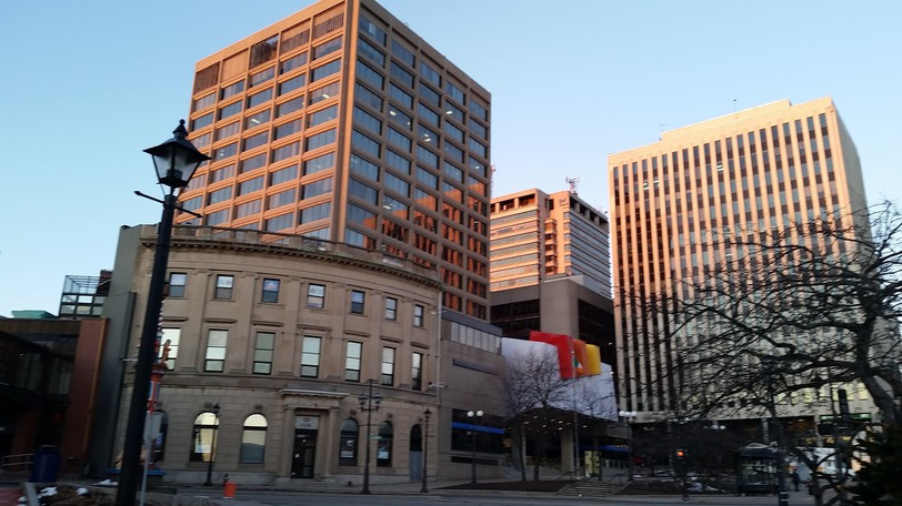 Saint John City Hall is pictured here in this file photo. The city will be implementing a vaccine or testing policy on Sept. 20.