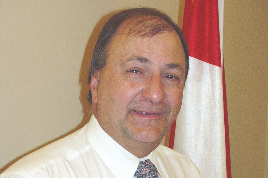 Ron Bourque is seeking one of three Belledune councillor seats in the May 10 election.