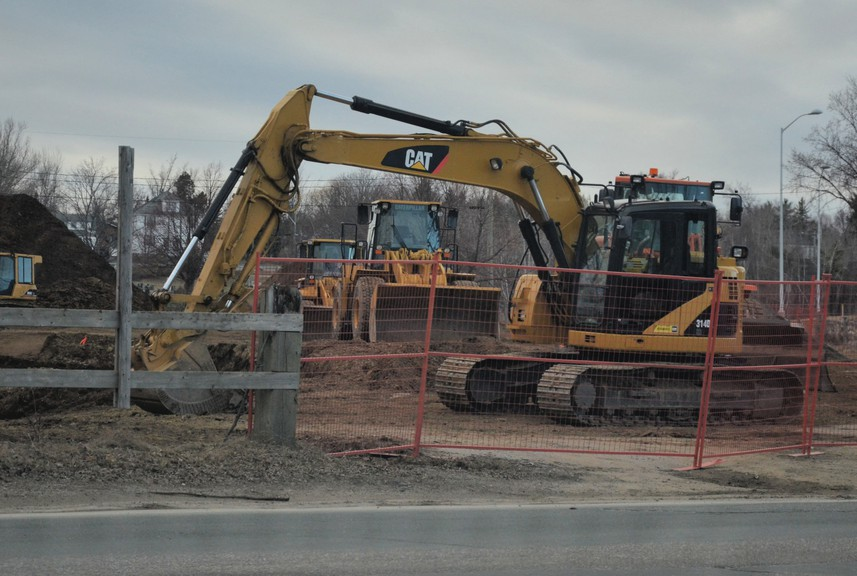 Work is underway on building a new 31-unit apartment complex at 619 King George Hwy., the former St. Mary's convent property. Miramichi city council approved a incentive worth $287,500 for the project, one of five being subsidized by the city's housing development incentive program.