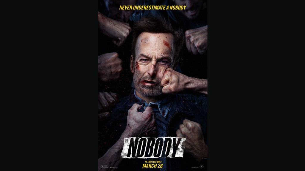 The poster for the action movie Nobody.