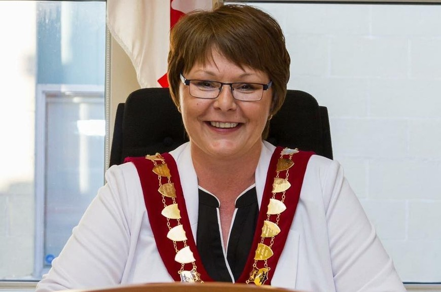 Campbellton mayor Stephanie Anglehart-Paulin was the victim of a scammer when someone set up an email account in her name and solicited funds from city hall.