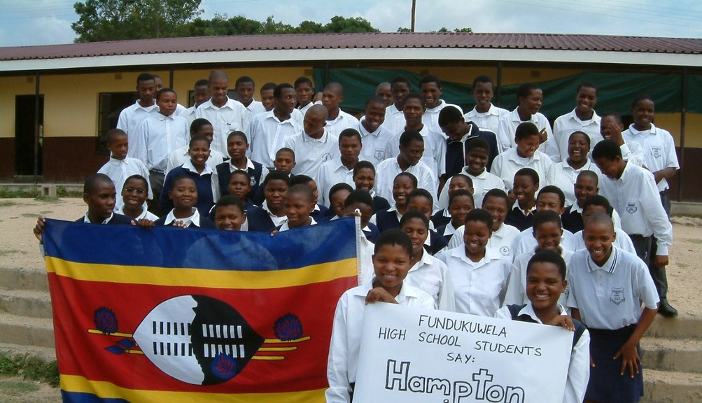 Fundukuwela High School students in Swaziland are seen in this submitted photo. In his latest column, Mark Bettle writes schools like FHS have finally opened for the 2021 school year after delays due to the pandemic, and the support of the Hampton-Piggs Peak Partnership has played a role for many students.