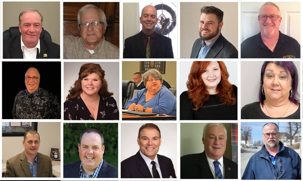 Fifteen candidates are vying for eight Miramichi city council seats in the May 10 municipal election. They include (top row, from left): Brian King, Billy Fleiger, Ryan Somers, Chad Duplessie and Tony (Bucket) Walsh. Middle row, from left: Tom King, Tara Ross-Robinson, Shelly Williams, Veronique Arsenault and Bonnie Nowlan. Bottom row, from left: Jason Harris, Paddy Quinn, Sam Johnston, John Foran and Tony Russell.