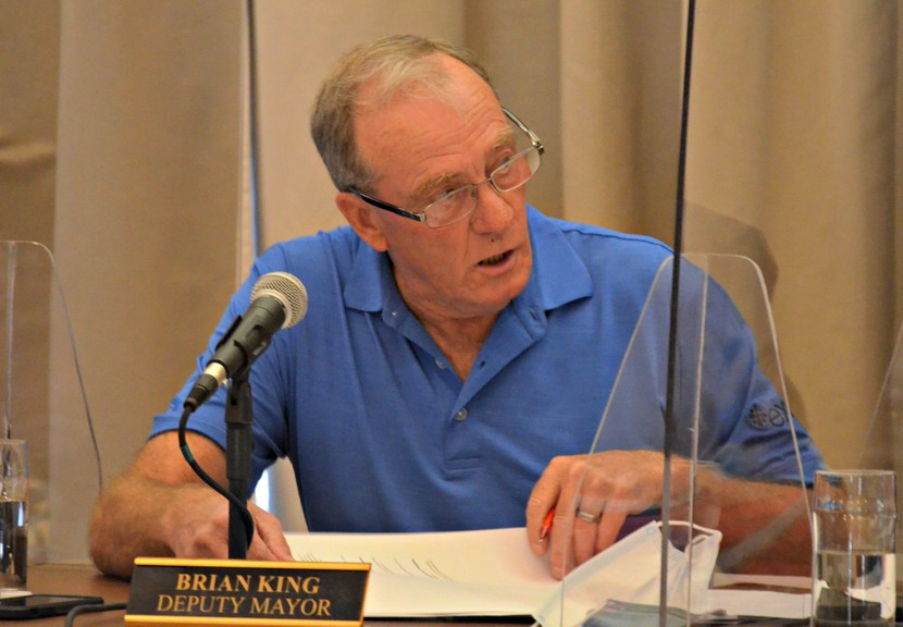 Miramichi deputy mayor Brian King is seeking a seventh term on city council in the May 10 municipal election.