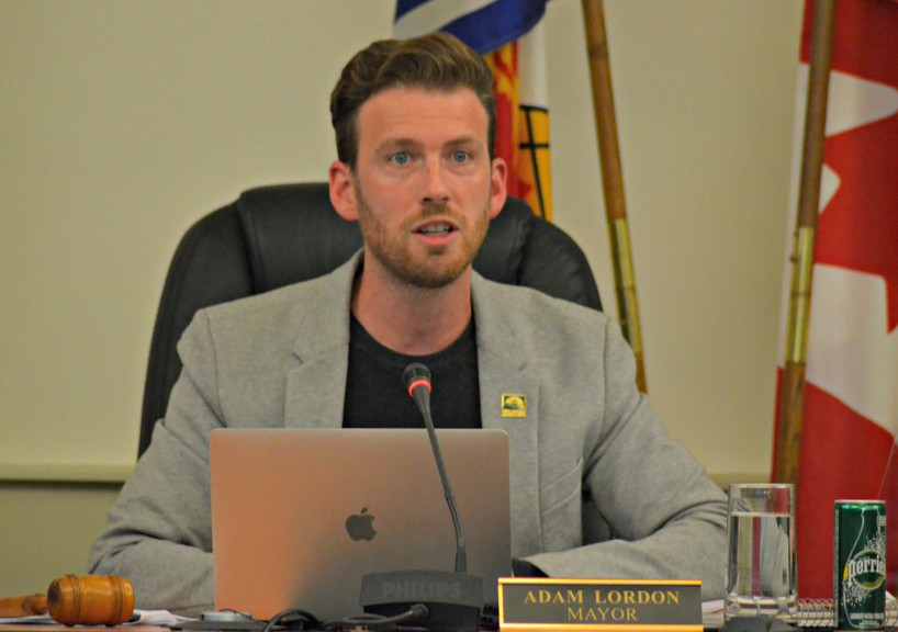 """Miramichi Mayor Adam Lordon says the proposed procedural bylaw governing city council and committee meetings will make elected representatives and council proceedings """"more accessible than ever."""""""