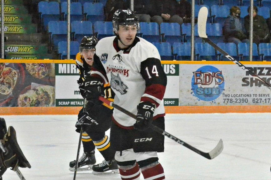 Miramichi Timberwolves forward Kennedy Gallant was suspended two games for checking from behind April 23 versus the Campbellton Tigers.