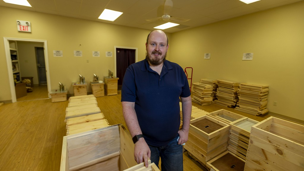 After just five months in business, Matt Casey is expanding NBee Gold Beekeeping Supplies to a physical store in Sussex  after demand for his products exceeded his expectations.