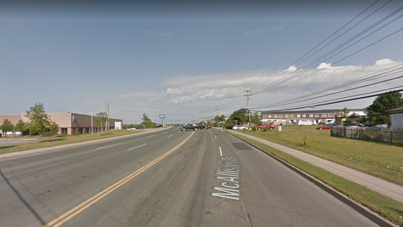 Part of McAllister Drive will be down to one lane this week.