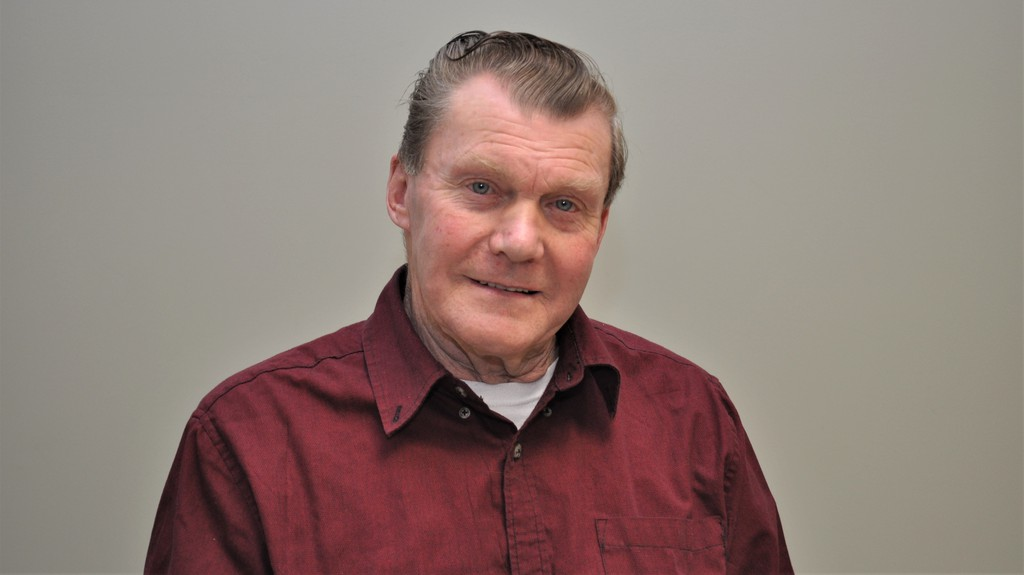 Gary Harding has served as deputy mayor during his first term on Plaster Rock village council. He is seeking re-election on May 10.