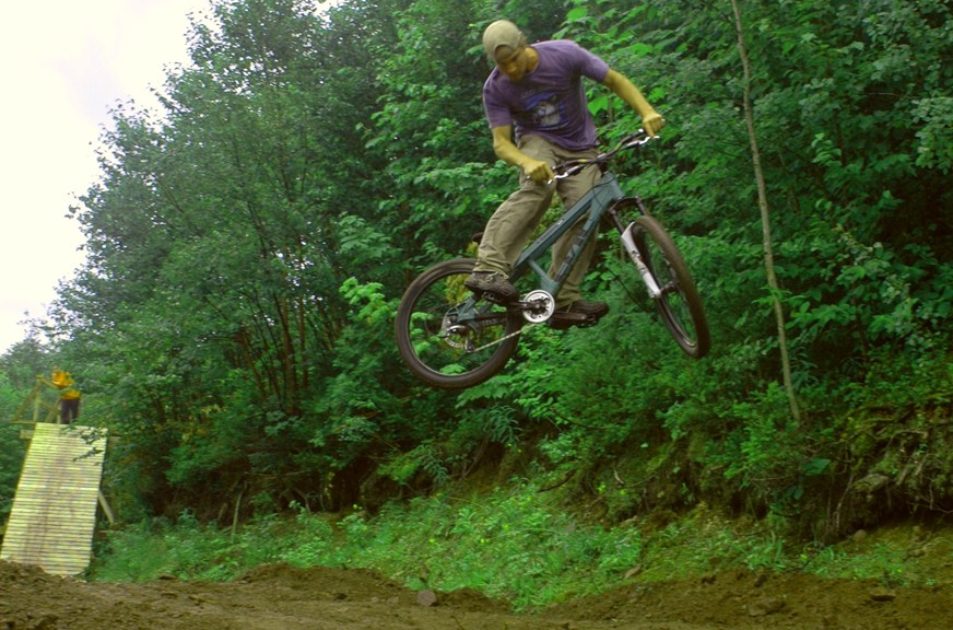 A local group is trying to set up a new mountain bike trail system that could link both ends of Restigouche County.