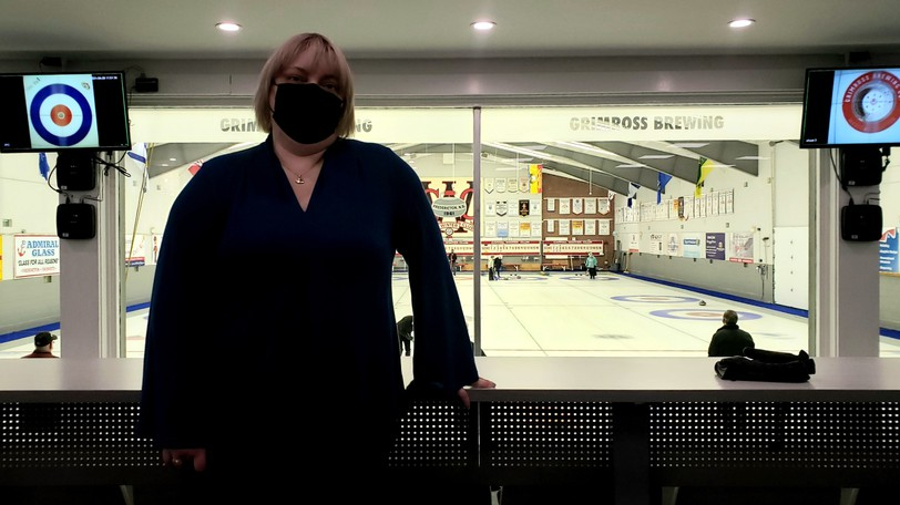 Capital Winter Club general manager Jaime Watson heartily endorses Curling Canada's policy that all fans, volunteers and athletes be fully vaccinated.
