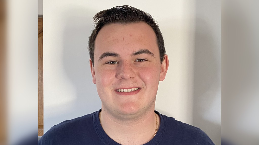 At 19, Denver Brennan is the youngest candidate vying for Blackville council.