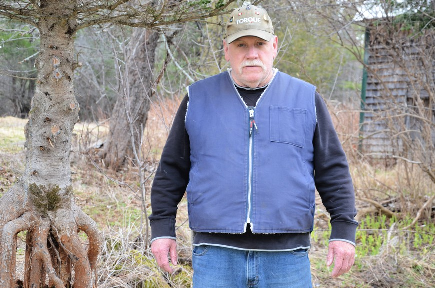 Willie Walls is one of six candidates vying for four seats on Blackville village council in the May 10 municipal election.