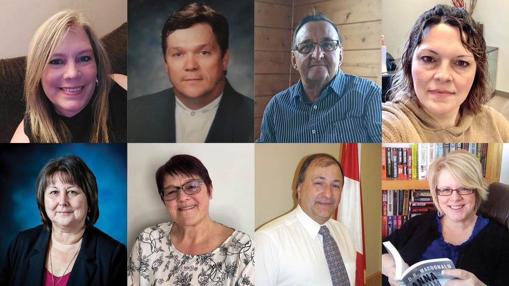 The Village of Belledune has 12 council candidates vying for five available seats in the upcoming election and two candidates running for mayor. Pictured top row from left: Council candidates Gina C. Card and Jimmy Harvey, mayoral candidate Joe Noel, and council candidate Kristie Roherty Carrier.  Bottom row: Council candidates Lilliane D Carmichael, Marilyn Guitard-McDonnell, Ron Bourque and Tracy Culligan. Mayoral candidate Paul A. Arseneault and council candidates Ivan Doucet,Emma (Emmie) Flanagan, Barry William Noel, Cynthia Adams-Robinson and Morris Stevens did not provide a photo by the publication deadline.