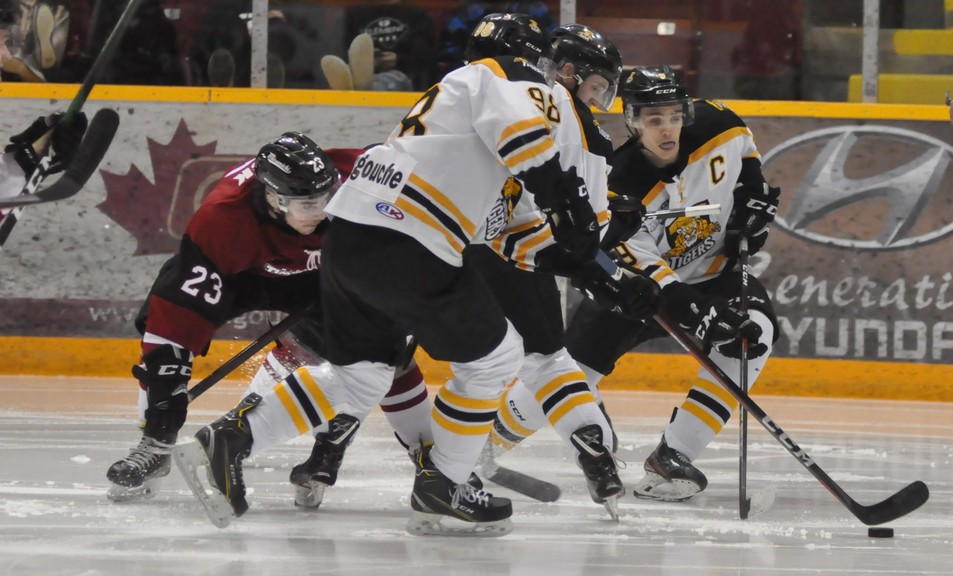 The Campbellton Junior A Tigers will face off against the Miramichi Timberwolves in the EastLink North Division semifinals starting Wednesday in Miramichi followed by Game 2 in Campbellton on Friday.