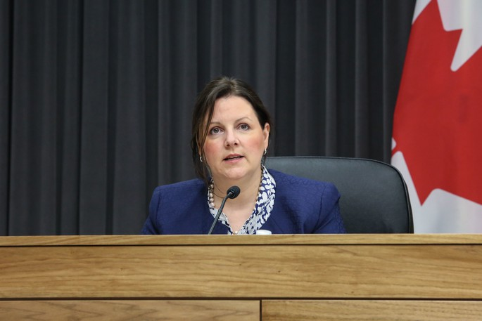 Chief Medical Officer of Health Dr. Jennifer Russellis pictured in this file photo.