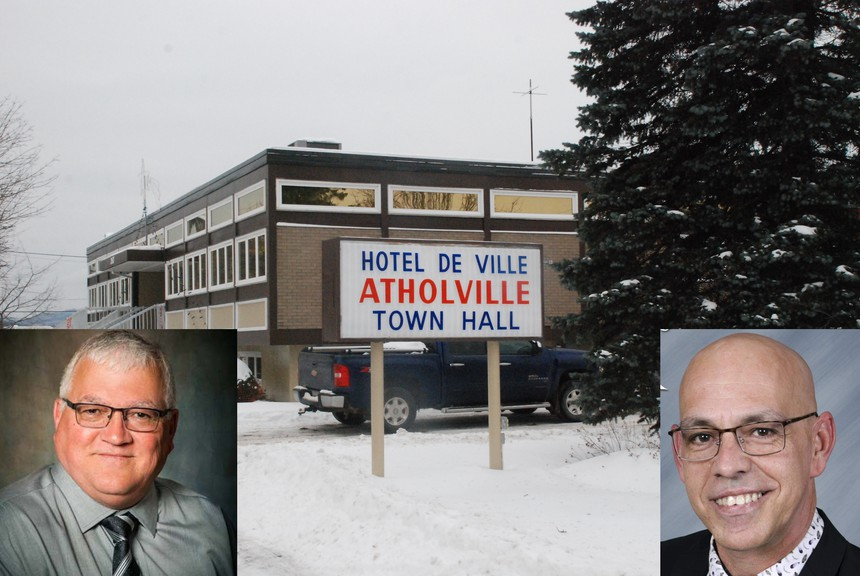 Julien Ouellette, left, and SteveThériault are two of the candidates running in Atholville in the May 10 election. Jean-Claude Charest,Marc Levesque,Marie-France Maltaisare also running inWard 2. Gaëtan Cormier,Céline Savoie,andArthur Thibault are also running in Ward 3.