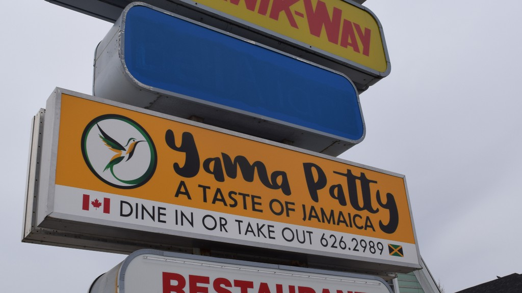 Anthony Edwards, owner of Yama Patty on Cunard Street in Chatham, said he aims to open the restaurant on May 7.