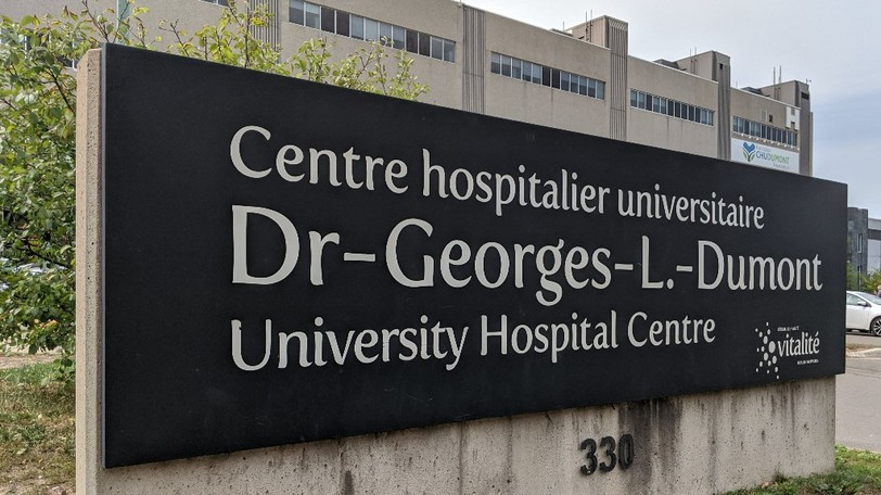 Public Health issued a potential public exposure alert for the Dr. Georges-L.-Dumont University Hospital Centre emergency room.