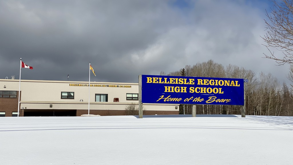 Belleisle Regional High School is seen in this Feb. 17, 2021 file photo. Water pressure issues at the school which made washroom use difficult have been resolved by the installation of a booster pump, the Anglophone South School District said.