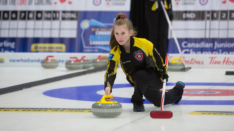 Ammon's Carly Smith has been awarded aFor the Love of Curling scholarship by Curling Canada.