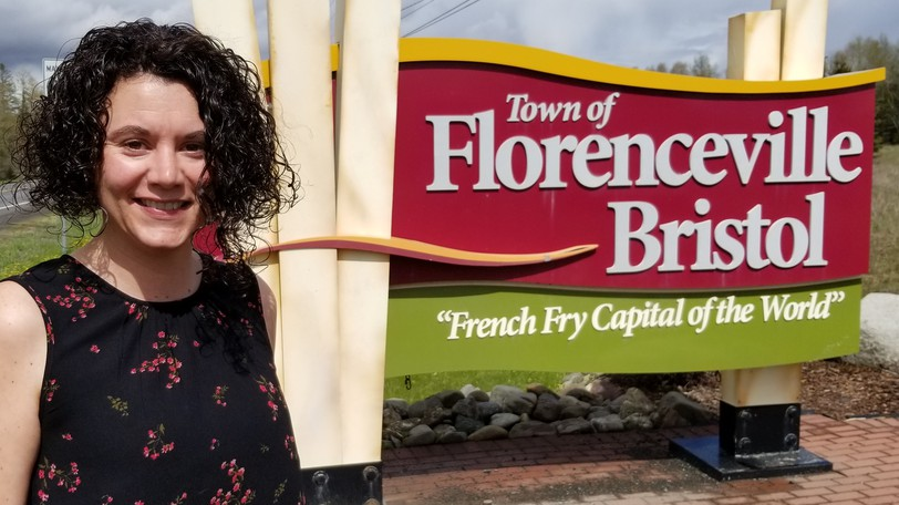 Bobbie O'Donnell, tourism and business development manager in Florenceville-Bristol. Last week the town announced the launch of a program called Class-of-One to attract potential entrepreneurs to the area.
