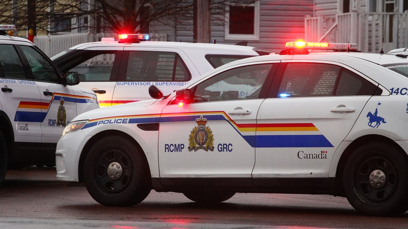 RCMP members arrested a man with a knife inside a downtown Moncton apartment on King Street on May 18.
