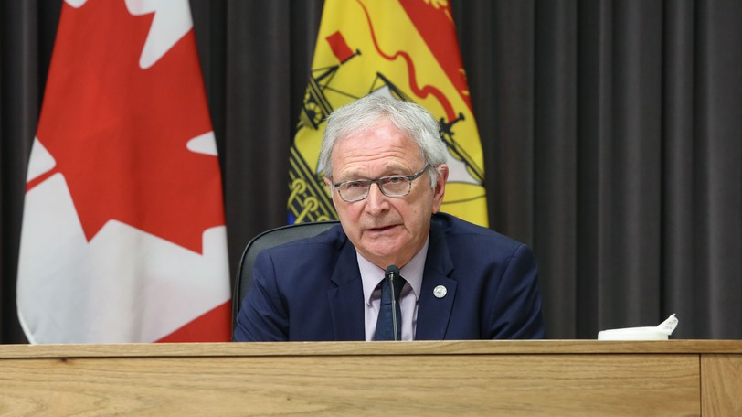 Premier Blaine Higgs is pictured in this file photo.