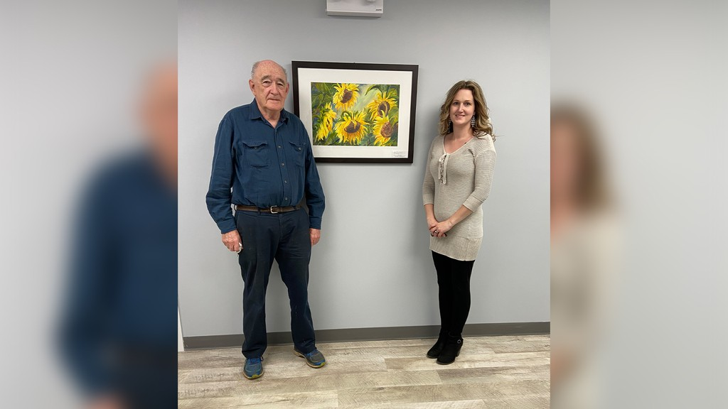 Sussex Health Centre Foundation director Vern Seeley and director/secretary Jacklyn Tower. Tower said the foundation has been struggling to raise funds during the pandemic, but it continues to be active in purchasing needed equipment for the Sussex Health Centre.
