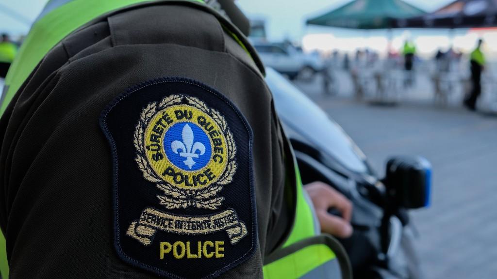 A man in his 60s is dead following a crash on Chemin de la Petite Rivière-du-Loupin Pointe-à-la-Croix Sunday night.