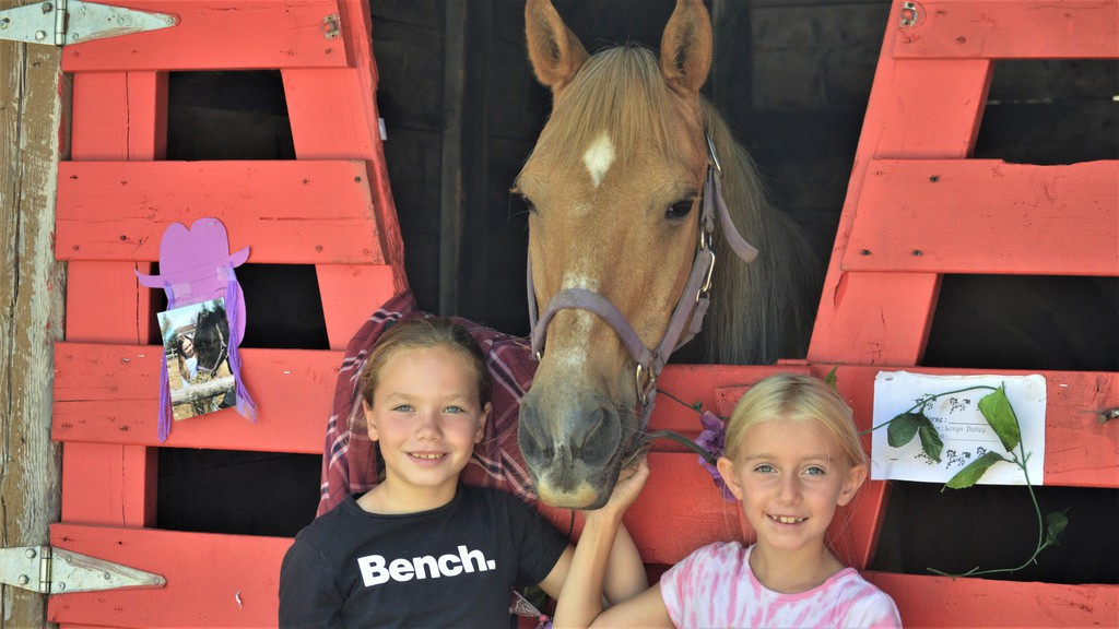 The Valley Horse and Saddle Club grounds in Bairdsville near Perth-Andover will be the site of several clinics as well as a one-day show over the summer. Members are also preparing for the club's 50th anniversary in 2022. Loryn Petley and Ashlynn Trecartin were among the clinic participants in 2020.