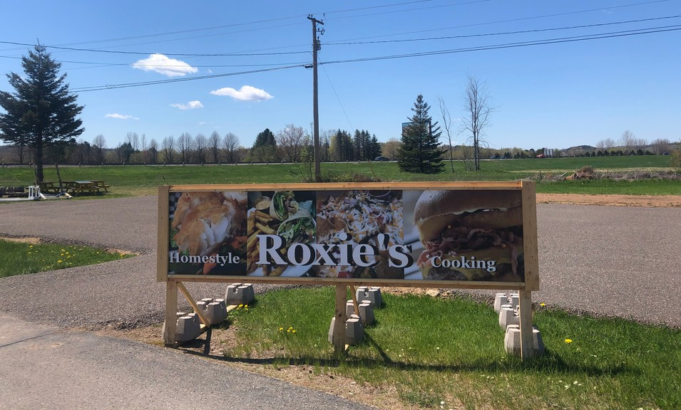The mobile restaurant Roxie's is setting up shop just outside Sussex this season in Four Corners.