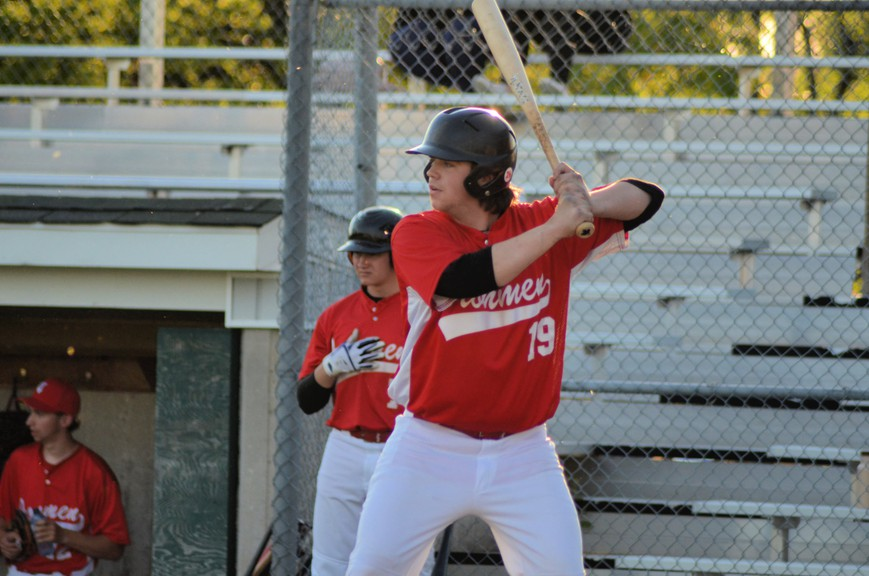 Dylan Dawson drove in two runs for the Chatham Molson Junior Ironmen in their 8-4 loss to the Metro Mudcats in their New Brunswick Junior Baseball League season opener Wednesday at Ironmen Field.