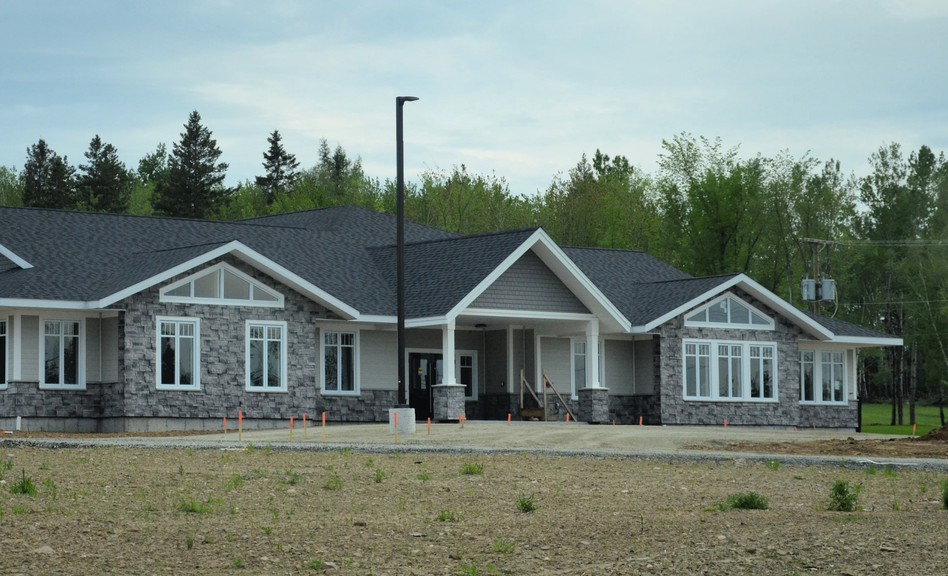 Issues with supplies being delivered mean the opening date for Hospice Miramichi's new residential facility remains uncertain.