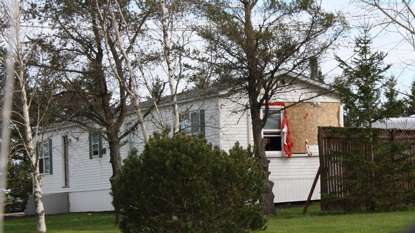 An Upper Sackville home was damaged by arson on May 13.