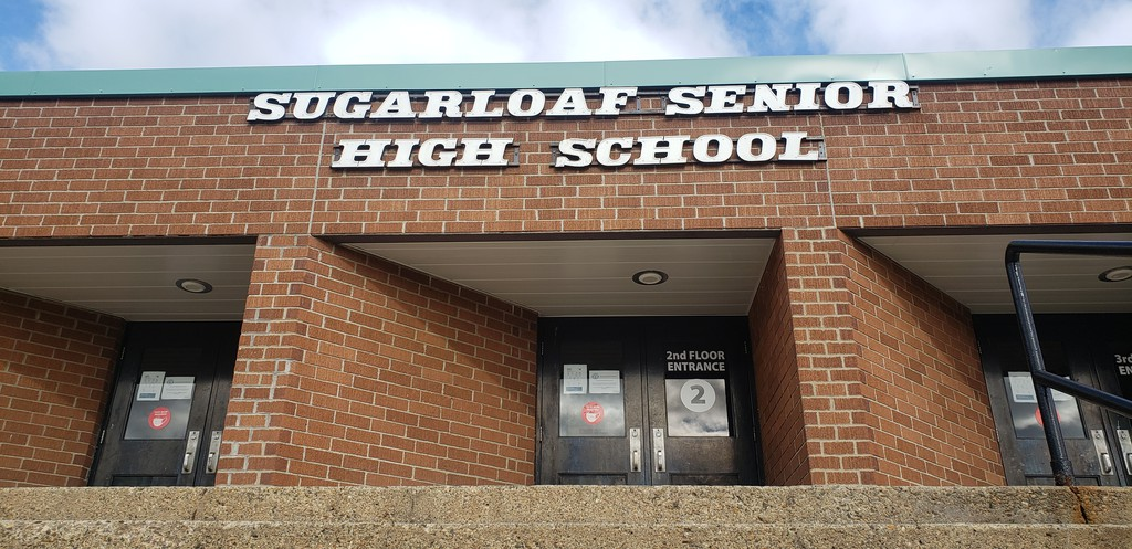 Sugarloaf Senior High School in Campbellton. Anglophone North School District will be letting students out of class early in all but two schools in the district on Monday June 7 due to expected high temperatures.